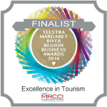 Finalist Tourism category Margaret River Business Awards